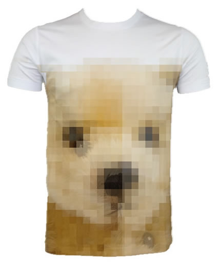 Pixel Bear T-shirt number 2 from Funky Presents