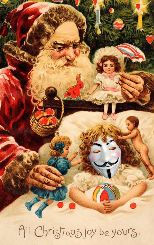 Anonymous Christmasgift eCard number 14 for sale Funky Presents